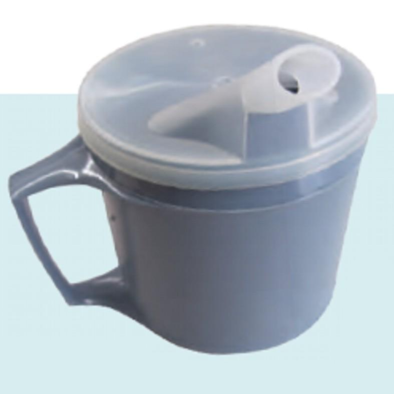 Életviteli csőrös pohár, HŐTARTÓ, kettős falú 200 ml