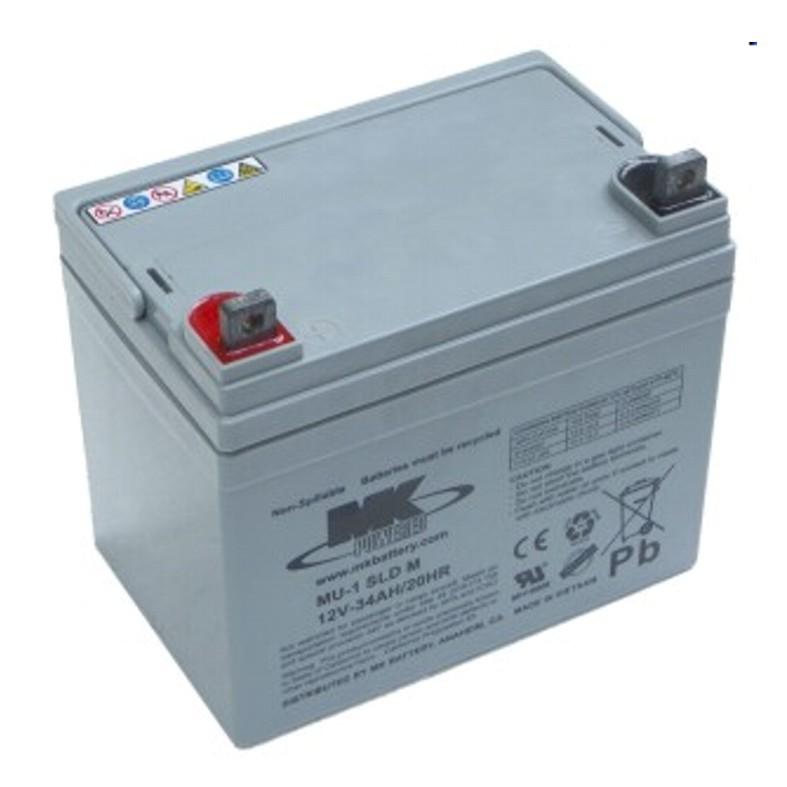 Kerekesszék akkumulátor MK 12V/34Ah