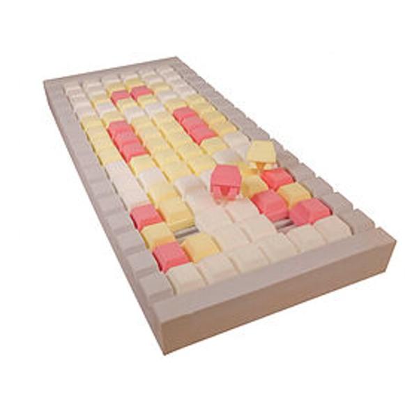 Ápolási kezelő szivacs matrac SPM-FLEXICUBE vízhatlan huzatban