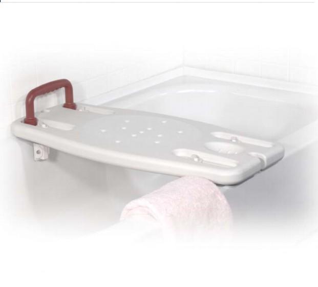 Fürdőkád pad BENNY kapaszkodókarral
