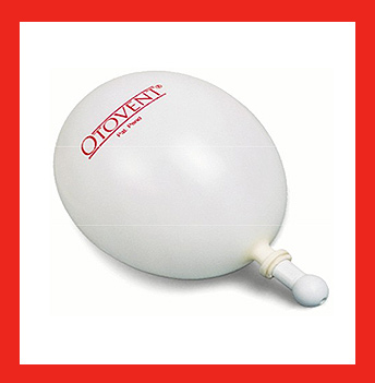 OTOVENT készülék fülkürt kezelésre 5 ballon + toldalék