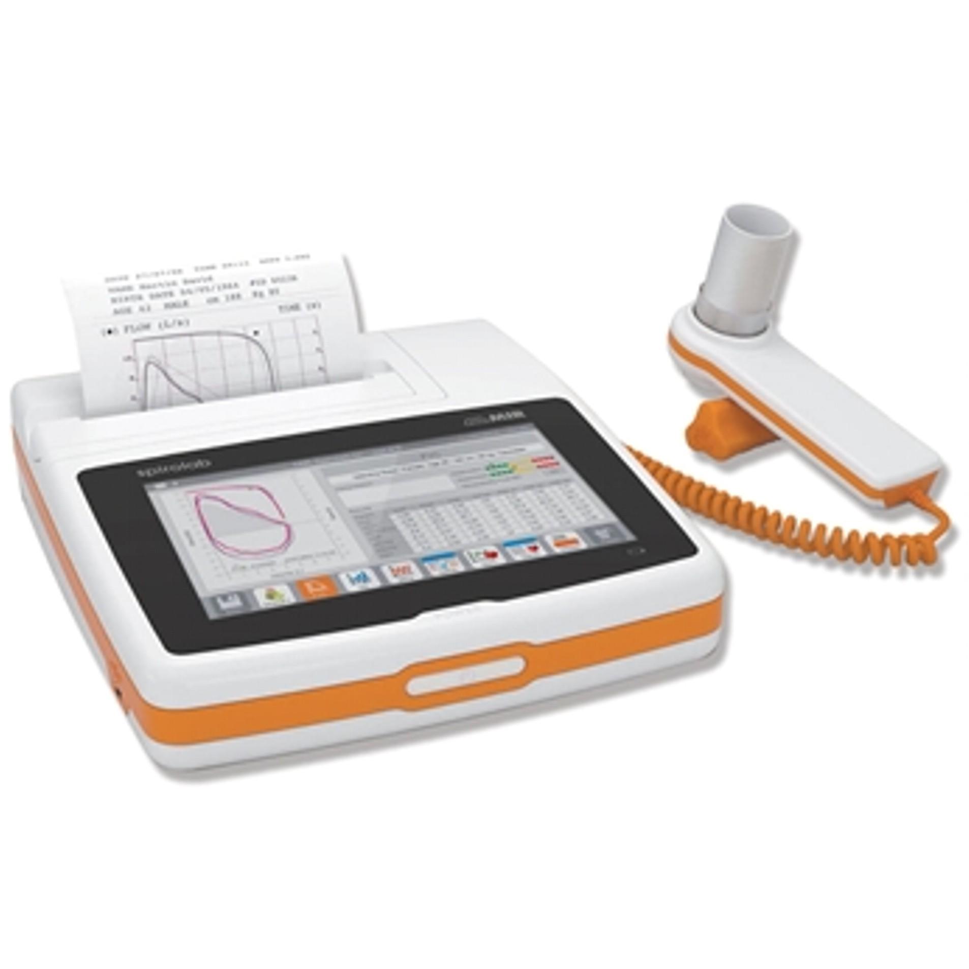 Spirométer SPIROLAB 7' érintőképernyő + SpO2