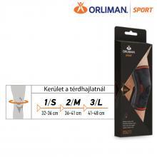 ORLIMAN SPORT elasztikus térdrögzítő 24 cm - PREMIUM